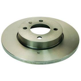 Bremsscheibe Bremsscheibendicke: 13mm, Lochanzahl: 4, Ø: 256mm mit OEM-Nummer 8A0 615 301