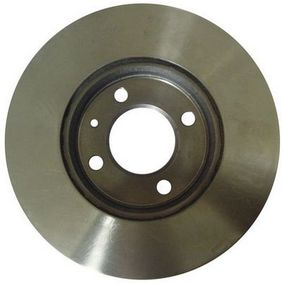 Bremsscheibe Bremsscheibendicke: 20mm, Lochanzahl: 4 mit OEM-Nummer 6N0 615 301 D