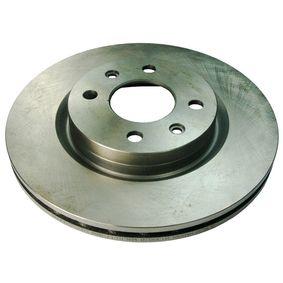 Bremsscheibe Bremsscheibendicke: 20mm, Lochanzahl: 4, Ø: 259mm mit OEM-Nummer 517 49 124