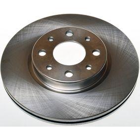 Bremsscheibe Bremsscheibendicke: 20mm, Lochanzahl: 4, Ø: 257mm, Ø: 257mm mit OEM-Nummer 5174 9124