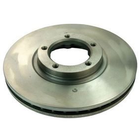 Bremsscheibe Bremsscheibendicke: 24,2mm, Lochanzahl: 5 mit OEM-Nummer 638 421 01 12