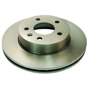 Bremsscheibe Bremsscheibendicke: 22mm, Lochanzahl: 5 mit OEM-Nummer A6384210112