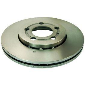 Bremsscheibe Bremsscheibendicke: 22mm, Lochanzahl: 5, Ø: 256mm mit OEM-Nummer 6R0 615 301