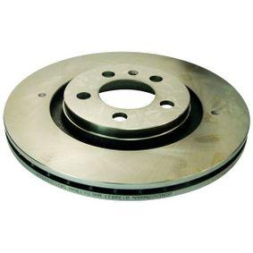 Bremsscheibe Bremsscheibendicke: 22mm, Lochanzahl: 5 mit OEM-Nummer 1J0 615 301P