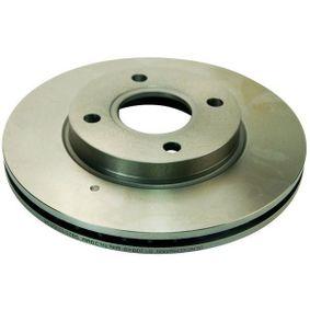 Brake Disc Brake Disc Thickness: 22mm, Num. of holes: 4, Ø: 258mm, Ø: 258mm with OEM Number 98AG-1125-EA