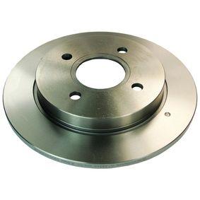 Bremsscheibe Bremsscheibendicke: 10,2mm, Lochanzahl: 4, Ø: 253mm mit OEM-Nummer 191 615 601