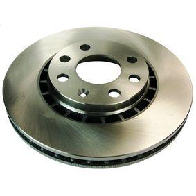Bremsscheibe Bremsscheibendicke: 24mm, Lochanzahl: 6, Ø: 256mm mit OEM-Nummer 90 487 402