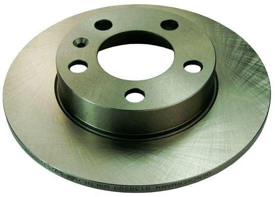 DENCKERMANN  B130200 Bremsscheibe Bremsscheibendicke: 9mm, Lochanzahl: 5, Ø: 230mm