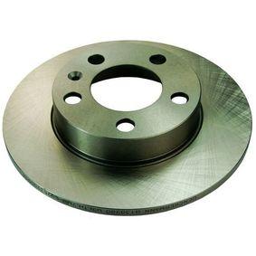 Bremsscheibe Bremsscheibendicke: 9mm, Lochanzahl: 5 mit OEM-Nummer 1J0615601N