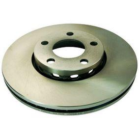 Bremsscheibe Bremsscheibendicke: 25mm, Lochanzahl: 5 mit OEM-Nummer 4A0 615 301E