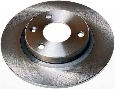 DENCKERMANN  B130203 Bremsscheibe Bremsscheibendicke: 8mm, Lochanzahl: 3, Ø: 238mm
