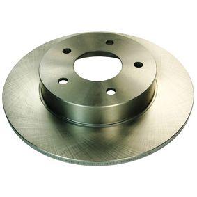 Bremsscheibe Bremsscheibendicke: 10mm, Lochanzahl: 5 mit OEM-Nummer 40206-AX600