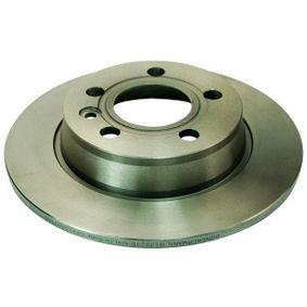 Bremsscheibe Bremsscheibendicke: 10mm, Lochanzahl: 5, Ø: 268mm, Ø: 268mm mit OEM-Nummer 7MO615601C