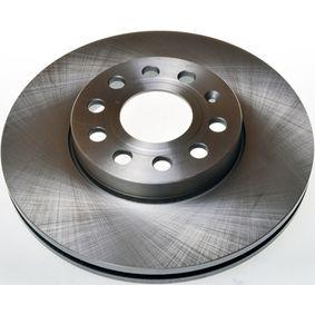Bremsscheibe Bremsscheibendicke: 25mm, Lochanzahl: 9, Ø: 288mm, Ø: 288mm mit OEM-Nummer 1K0615301K