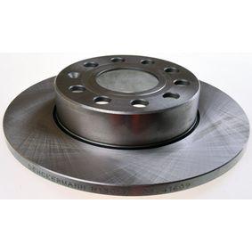Bremsscheibe Bremsscheibendicke: 12mm, Lochanzahl: 9, Ø: 256mm mit OEM-Nummer 1K0 615 601L