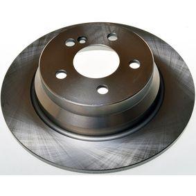 Bremsscheibe Bremsscheibendicke: 10mm, Lochanzahl: 5, Ø: 300mm mit OEM-Nummer A211 423 07 12