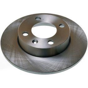 Bremsscheibe Bremsscheibendicke: 9mm, Ø: 232mm mit OEM-Nummer 1JE615601