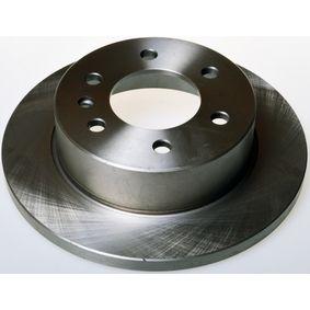 Bremsscheibe Bremsscheibendicke: 16mm, Ø: 298mm mit OEM-Nummer A9064230012