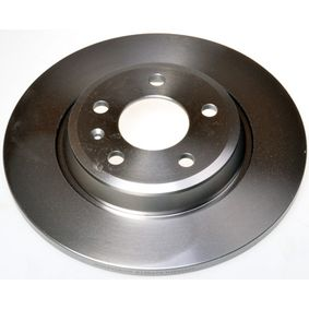 Brake Disc Brake Disc Thickness: 12,0mm, Num. of holes: 5, Ø: 300mm, Ø: 300mm with OEM Number 8K0 615 301 B