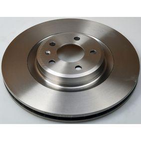 Brake Disc Brake Disc Thickness: 29,5mm, Num. of holes: 5, Ø: 345mm, Ø: 345mm with OEM Number 8K0 615 301Q