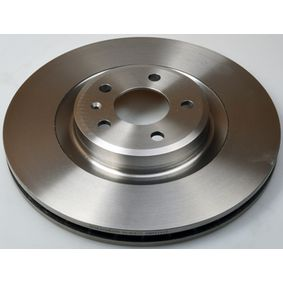 Brake Disc Brake Disc Thickness: 29,5mm, Num. of holes: 5, Ø: 345mm, Ø: 345mm with OEM Number 8K0.615.301K