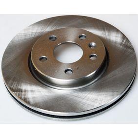 Bremsscheibe Bremsscheibendicke: 26,0mm, Lochanzahl: 5, Ø: 276mm mit OEM-Nummer 509069