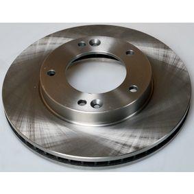 Bremsscheibe Bremsscheibendicke: 28,0mm, Lochanzahl: 5, Ø: 302mm mit OEM-Nummer 584113E300