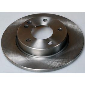Bremsscheibe Bremsscheibendicke: 12,0mm, Lochanzahl: 5, Ø: 260mm mit OEM-Nummer 169 421 0012