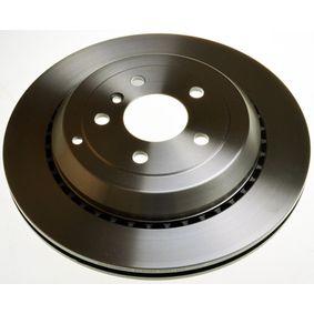 Спирачен диск дебелина на спирачния диск: 22,0мм, брой на дупките: 5, Ø: 330мм с ОЕМ-номер A1644231312