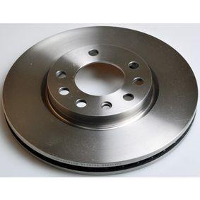 Bremsscheibe Bremsscheibendicke: 26,0mm, Lochanzahl: 5, Ø: 278mm mit OEM-Nummer 569063