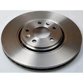 Bremsscheibe Bremsscheibendicke: 28,0mm, Lochanzahl: 5, Ø: 320mm mit OEM-Nummer 40206-4155R