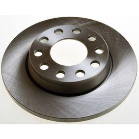 Bremsscheibe Bremsscheibendicke: 12,0mm, Lochanzahl: 5, Ø: 255mm, Ø: 255mm mit OEM-Nummer 8E0615601D