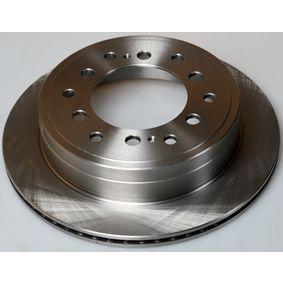 Disque de frein Épaisseur du disque de frein: 18,0mm, Nbre de trous: 6, Ø: 312mm avec OEM numéro 42431 60 270