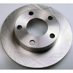 Bremsscheibe Bremsscheibendicke: 9,9mm, Lochanzahl: 5, Ø: 245mm mit OEM-Nummer 8D0615301B