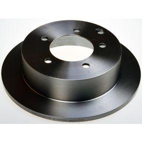 Спирачен диск дебелина на спирачния диск: 10мм, брой на дупките: 5, Ø: 262мм с ОЕМ-номер GBD90841