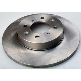 Спирачен диск дебелина на спирачния диск: 13мм, брой на дупките: 4, Ø: 262мм с ОЕМ-номер GBD90841