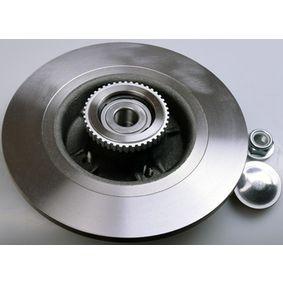 Bremsscheibe Bremsscheibendicke: 10,9mm, Lochanzahl: 4, Ø: 274mm, Ø: 274mm mit OEM-Nummer 7701206327