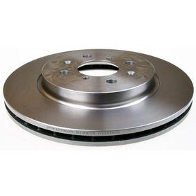 Bremsscheibe Bremsscheibendicke: 22mm, Lochanzahl: 4, Ø: 272mm mit OEM-Nummer 5531161M00
