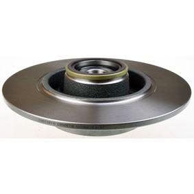 Bremsscheibe Bremsscheibendicke: 8mm, Lochanzahl: 5, Ø: 260mm mit OEM-Nummer 42.49.65