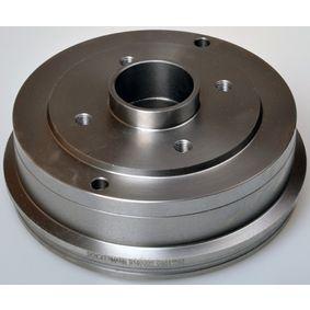 Bremstrommel Trommel-Ø: 180,0mm, Br.Tr.Durchmesser außen: 208mm mit OEM-Nummer 77 00 783 030