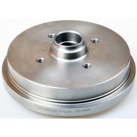 Bremstrommel Trommel-Ø: 180,0mm, Br.Tr.Durchmesser außen: 212mm mit OEM-Nummer 191 501 615B