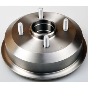 Brake Drum Drum Ø: 180,0mm, Outer Br. Sh. Diameter: 216mm with OEM Number 4 034 886