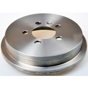 Bremstrommel Trommel-Ø: 200,0mm, Br.Tr.Durchmesser außen: 240mm mit OEM-Nummer 6QE609617