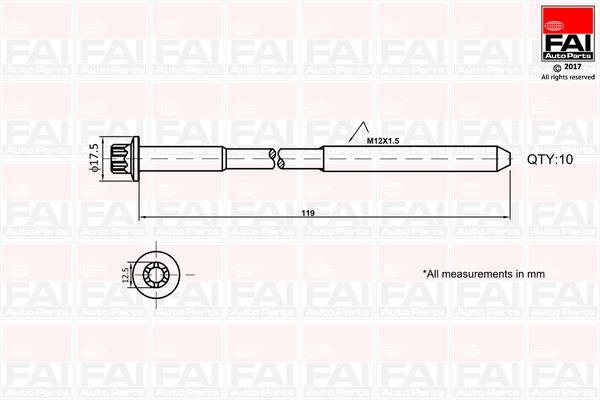 B1401 FAI AutoParts mit 29% Rabatt!
