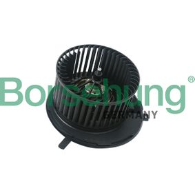 Interior Blower Voltage: 12V, Number of connectors: 2 with OEM Number 1K1 819 015 E