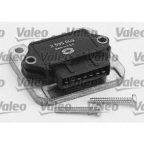 VALEO Steuergerät, Zündanlage 245521 für AUDI 80 Avant (8C, B4) 2.0 E 16V ab Baujahr 02.1993, 140 PS