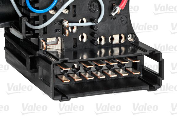 VALEO 251586 Steering Column Switch with light dimmer function, with indicator function, without horn, with rear fog light function, without board computer function
