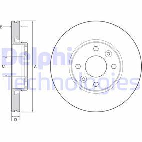 Brake Disc Brake Disc Thickness: 22mm, Ø: 258mm with OEM Number 45 34 200 100
