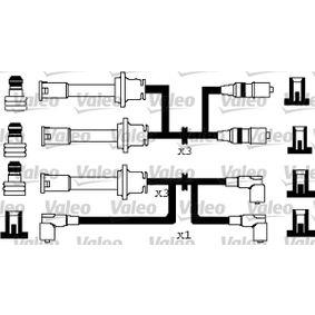 Kit cavi accensione Silicone, Lunghezza: 1130mm, Lunghezza: 824mm, Lunghezza 3: 780mm, Lunghezza 4: 930mm, Lunghezza 5: 680mm, Lunghezza 6: 530mm con OEM Numero 60573733