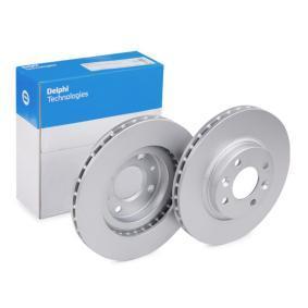 Brake Disc BG4570C Clio 4 (BH_) 1.5 dCi 75 MY 2013